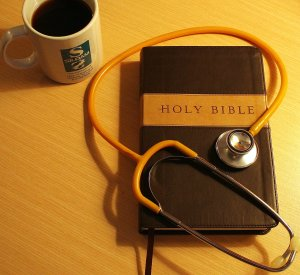Bible - Stethoscope - Siloam Coffee