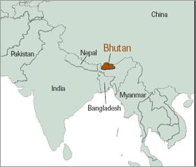 Bhutan map - www.edweek.org