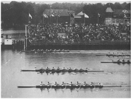 The University of Washington 1936 Olympic rowing team wins the gold!