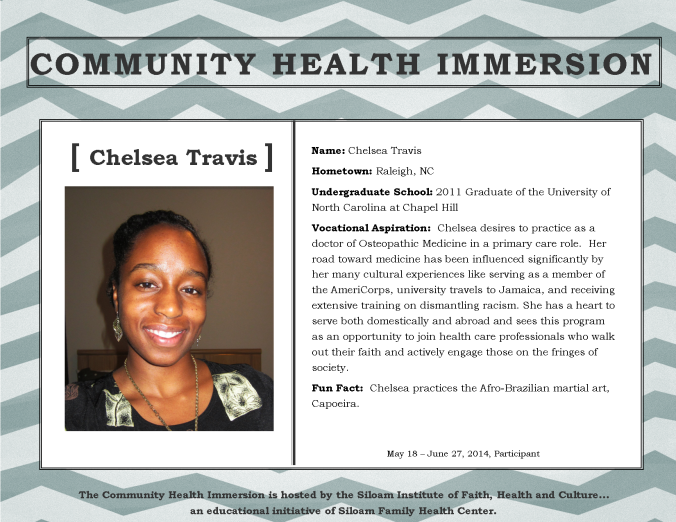 Travis, Chelsea - Profile for WEBSITE